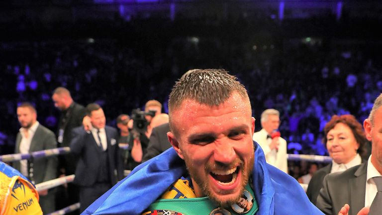 Vasiliy Lomachenko is regarded by many as the No 1 fighter in the sport