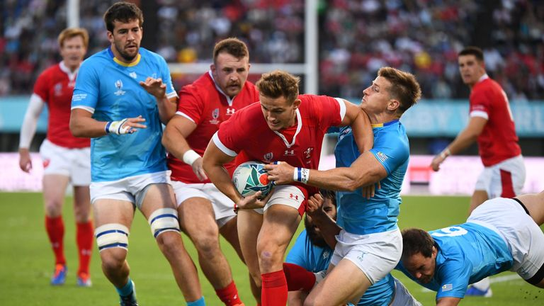 Wales beat Uruguay on Sunday to top their pool and set up a quarter-final against France