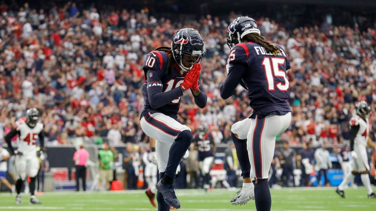 DeAndre Hopkins and Will Fuller are one of the best receiving duos in the game