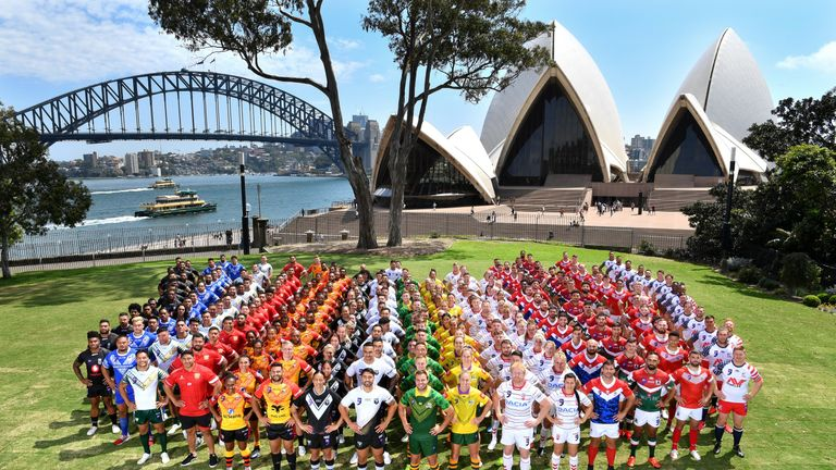 Rugby league's World Cup Nines takes place in Syndey on Friday and Saturday