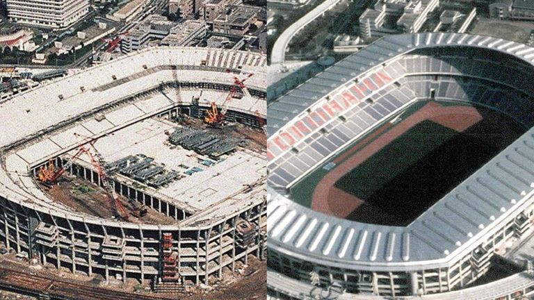Commissioned in 1994, the stadium was complete by 1998 to the cost of nearly £432m