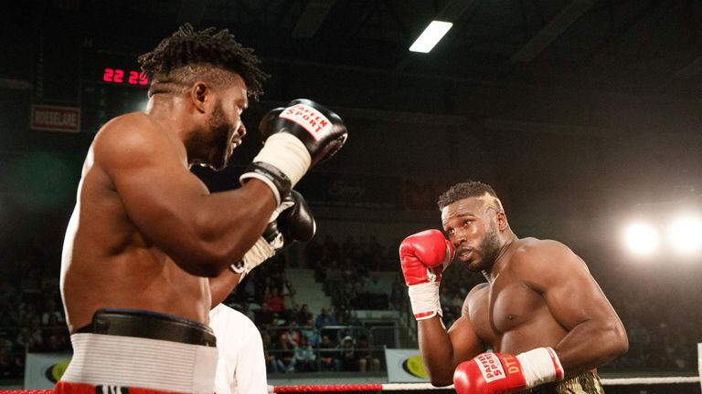 Yves Ngabu makes his third title defence against Okolie at The O2