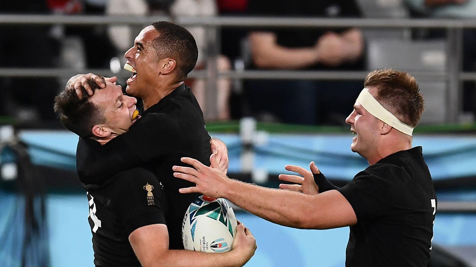 T Shirt New Zealand All Blacks Rugby SA Sports Lomu Tee