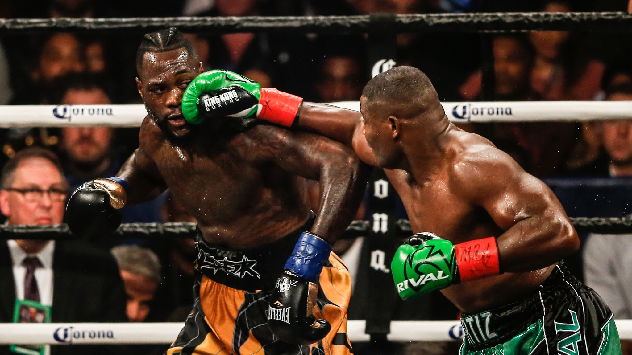 Deontay Wilder, Anthony Joshua and the game of thrones