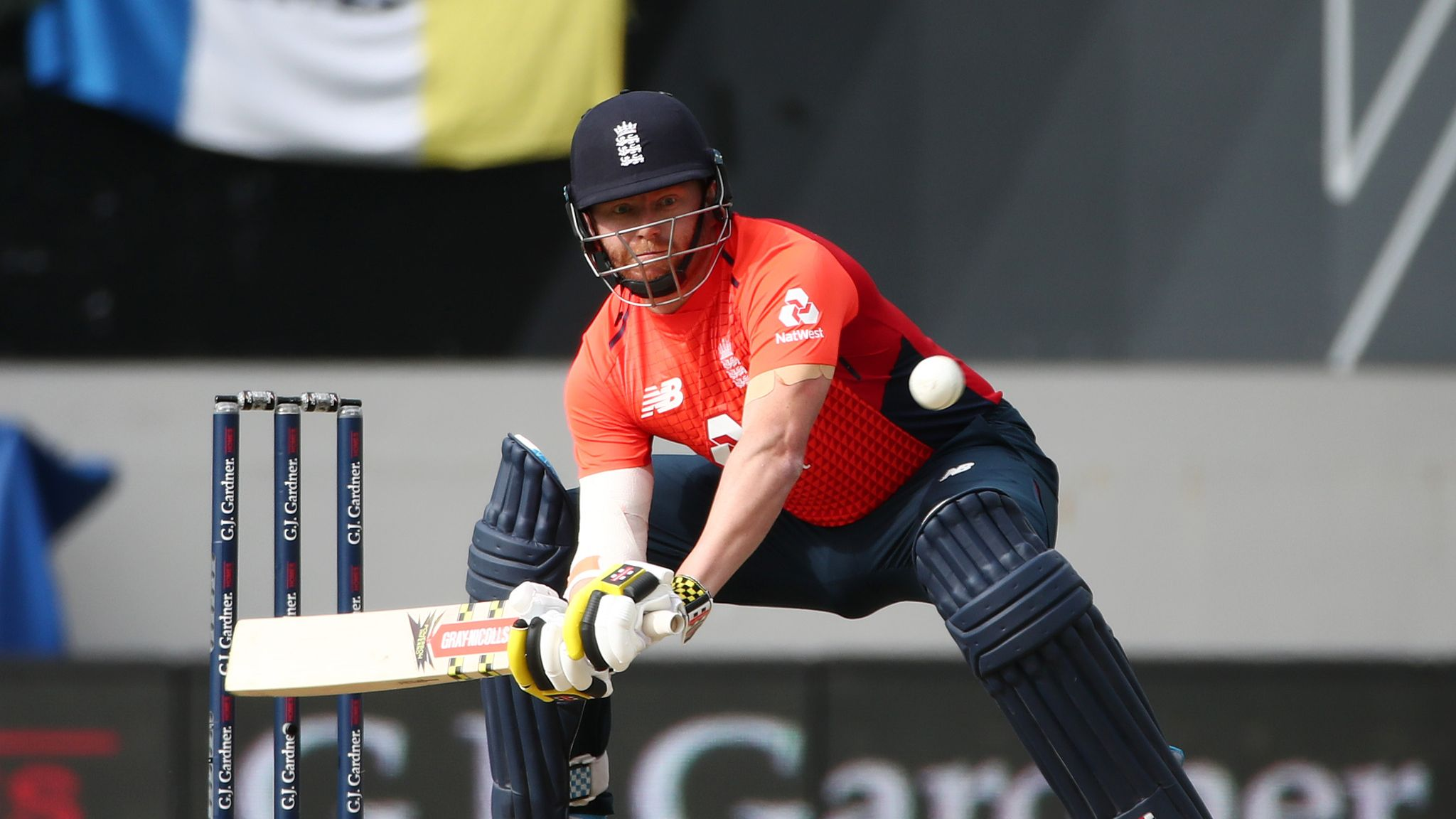 England's Jonny Bairstow reprimanded for 'audible obscenity' during New Zealand T20
