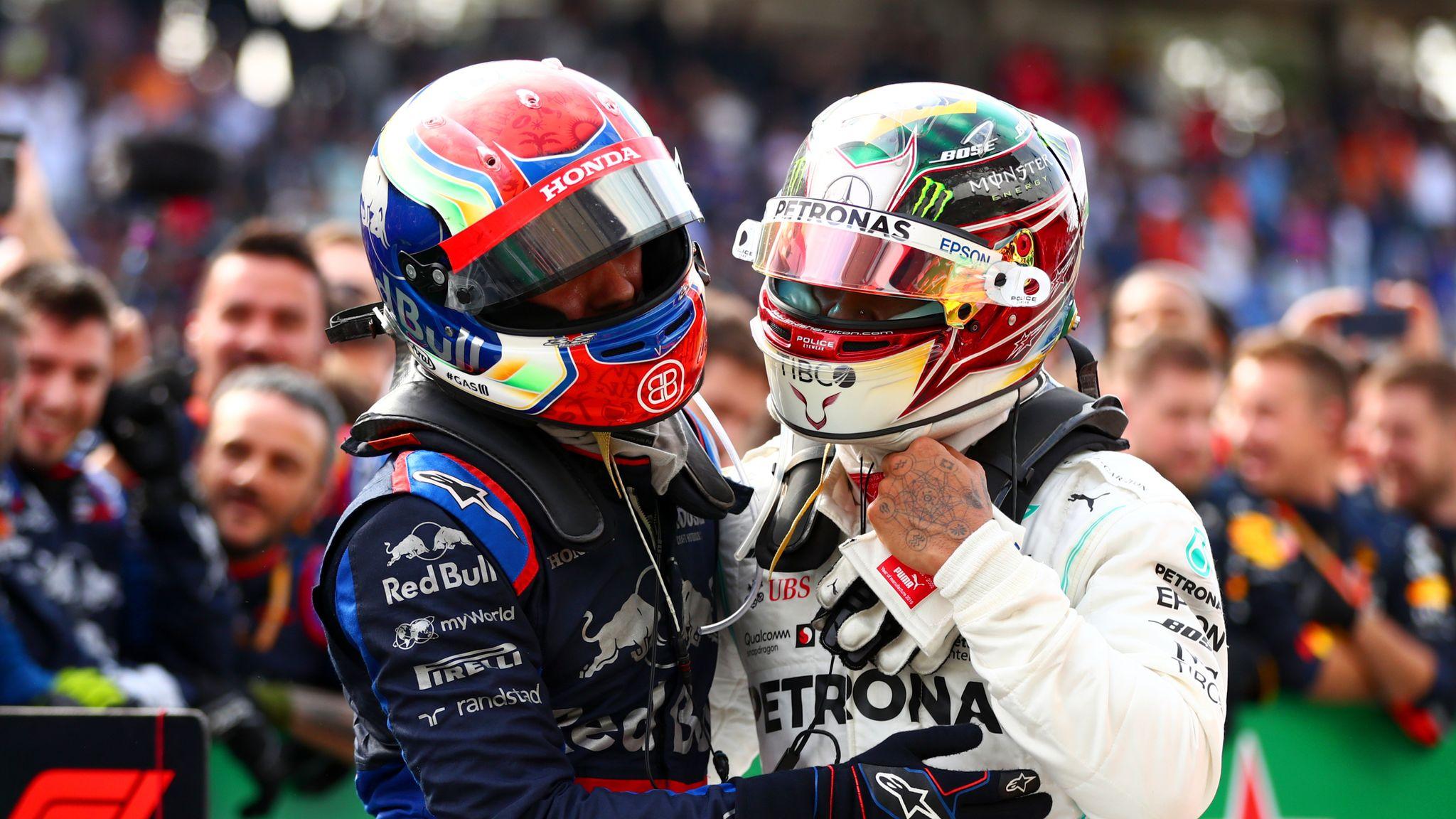 Lewis Hamilton's late Brazilian GP pit stop was 'dumb', admit Mercedes