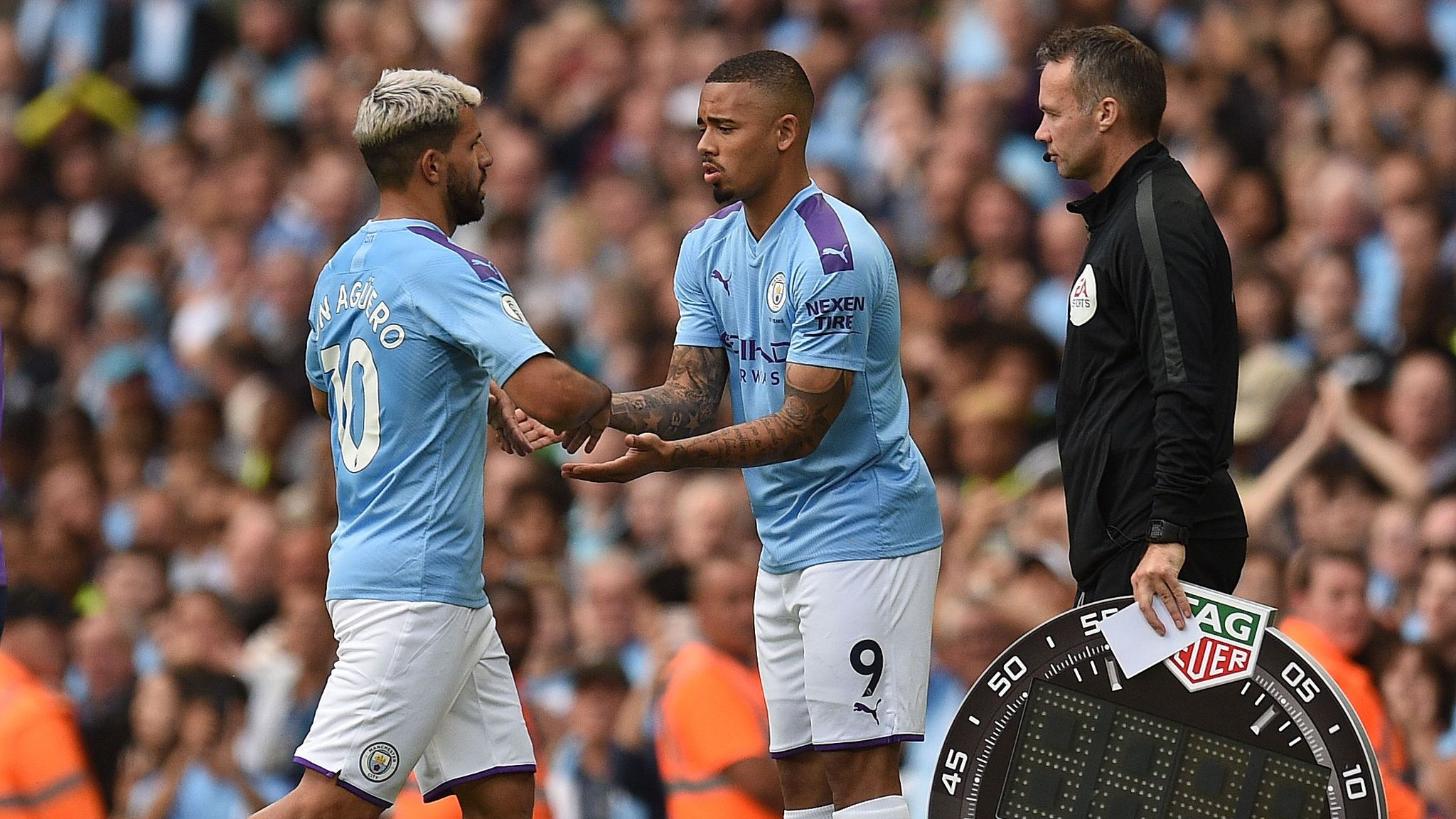 Gabriel Jesus admits to struggling with Manchester City expectation