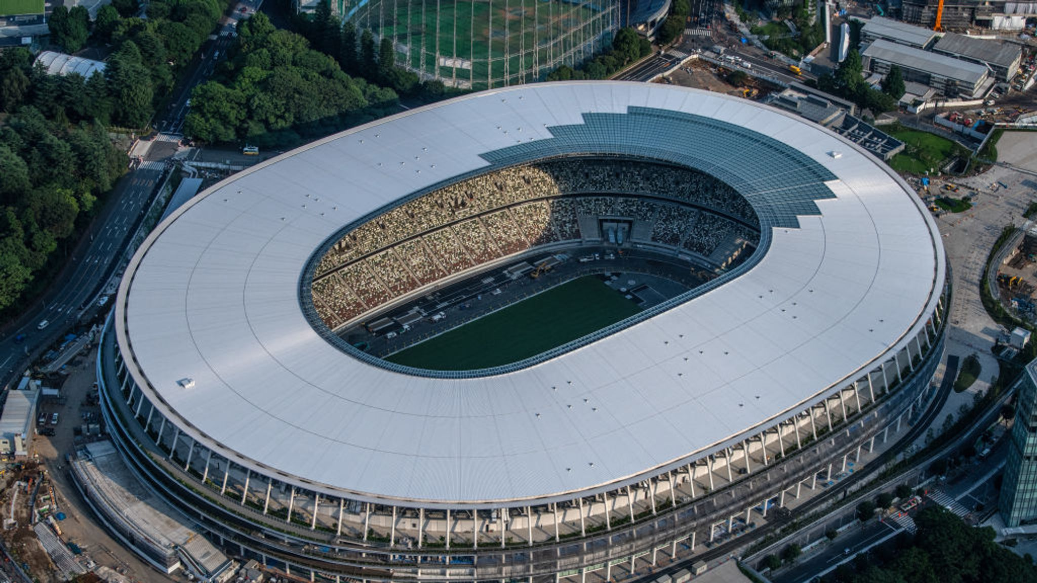 Tokyo Olympics 2020 Stadium officially finished
