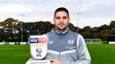 fifa live scores - Fulham's Aleksandar Mitrovic and Huddersfield boss Danny Cowley win Sky Bet Championship October awards