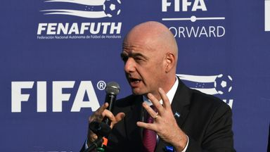 fifa live scores - FIFA president Gianni Infantino expects 'discrimination-free' 2020 World Cup