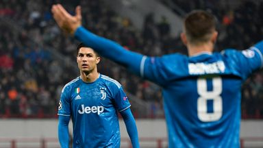 fifa live scores - Aaron Ramsey apologises to Cristiano Ronaldo after pinching record-breaking goal