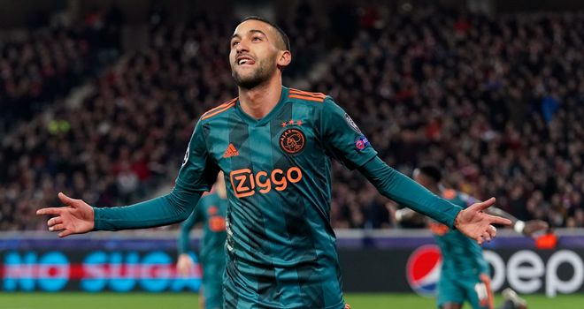 Hakim Ziyech: 'I will be a Chelsea player on 1 July'