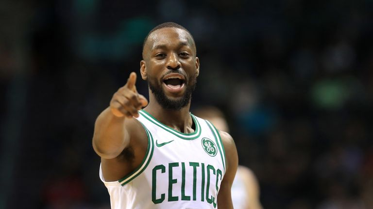 Kemba Walker salutes fans of his former team the Charlotte Hornets