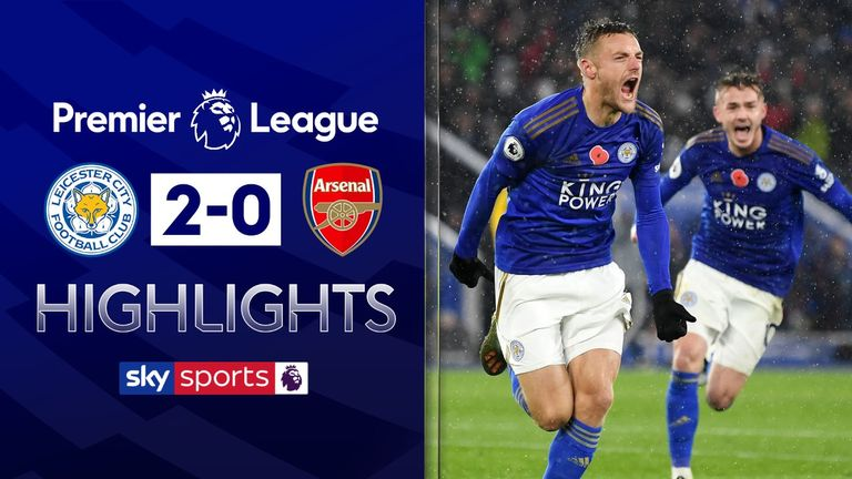 FREE TO WATCH: Highlights from Leicester's win against Arsenal in the Premier League