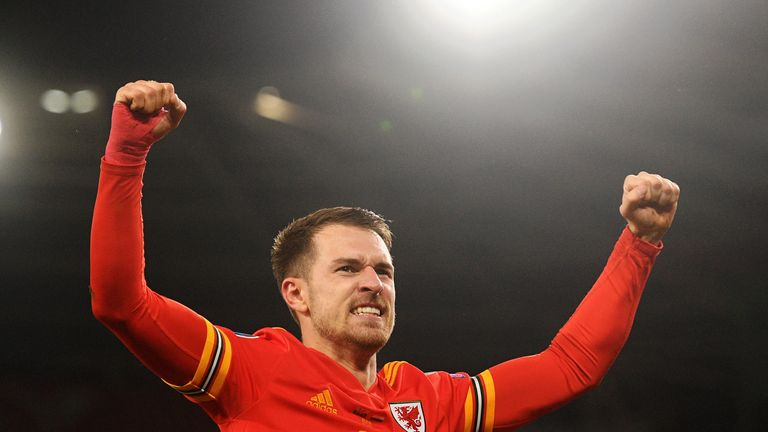Ramsey is targeting another impressive campaign for Wales at Euro 2020