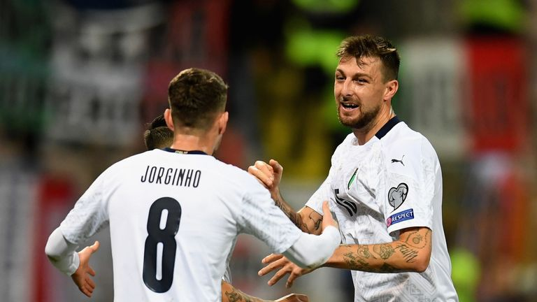 Francesco Acerbi opened Italy's account in Bosnia