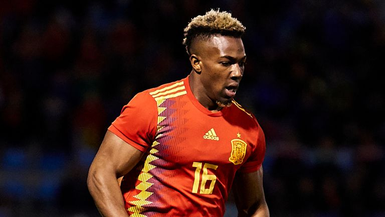 Adama Traore has represented Spain at youth level