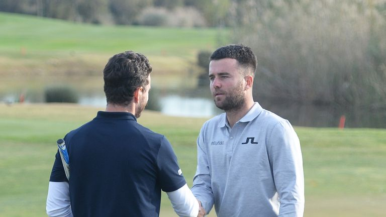 Canizares (left) posted a final-round 67