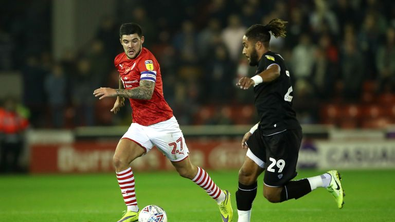 Mowatt is looking forward to getting back out on the field for Barnsley
