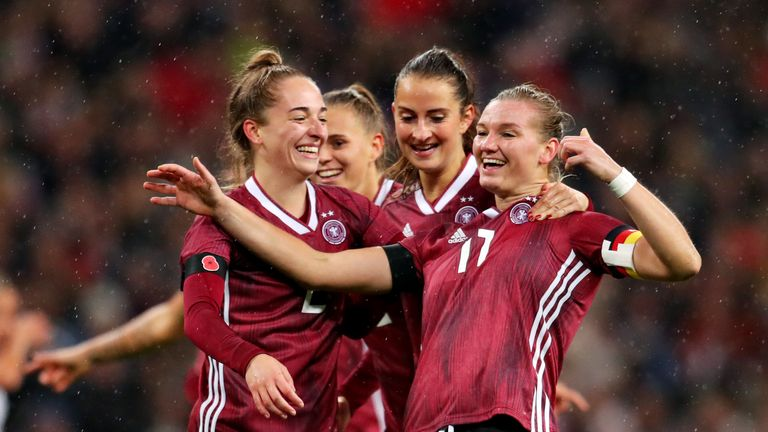 England could not handle Germany when they were on top, with Alexandra Popp scoring inside nine minutes