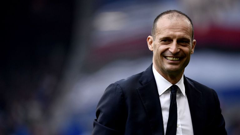 Max Allegri is interested in the Paris Saint-Germain job