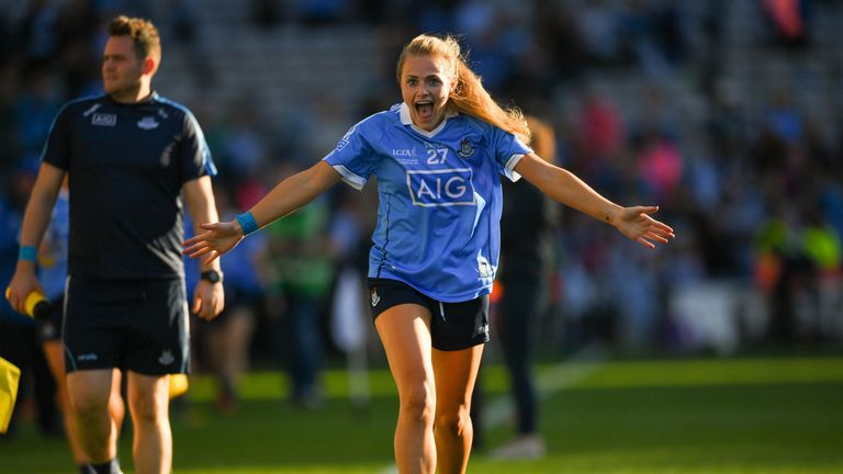 Connolly enjoyed a successful career in the blue of Dublin