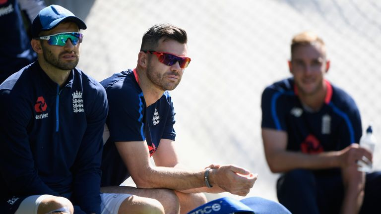Mark Wood and James Anderson are recovering from injuries
