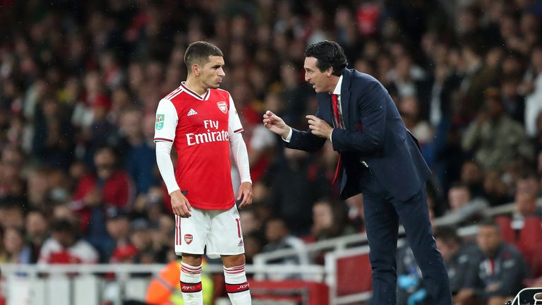 Unai Emery has held private sessions with Torreira to work on 'tactical issues'