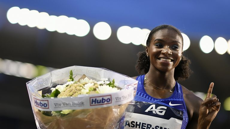 World Champion Dina Asher-Smith will not be able to compete for the 200m title in the Diamond League next season