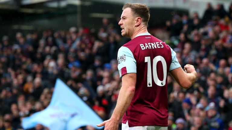 Ashley Barnes is set to return for Burnley this weekend