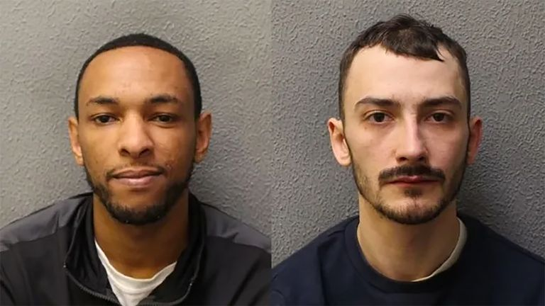 Ashley Smith (left) was jailed for 10 years, Jordan Northover (right) will be sentenced at a later date