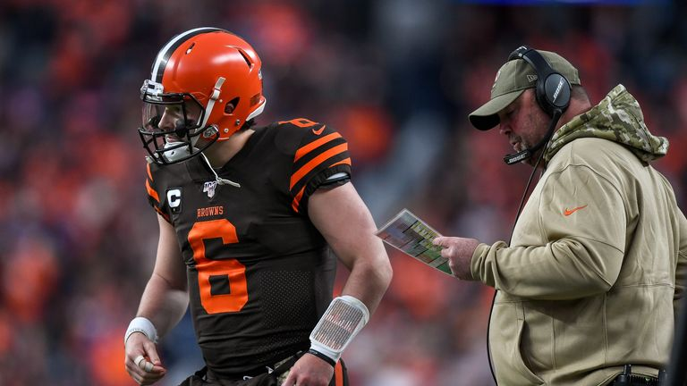 Mayfield and head coach Freddie Kitchens worked well together last season but have disappointed this time around