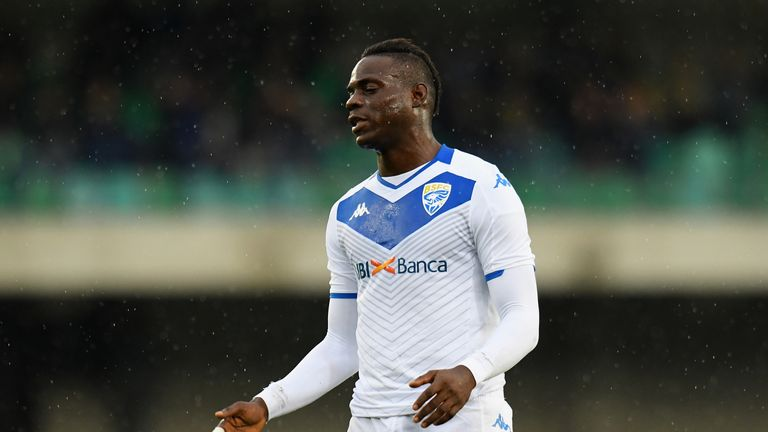 Balotelli has scored one goal for Brescia since returning to his boyhood club in August