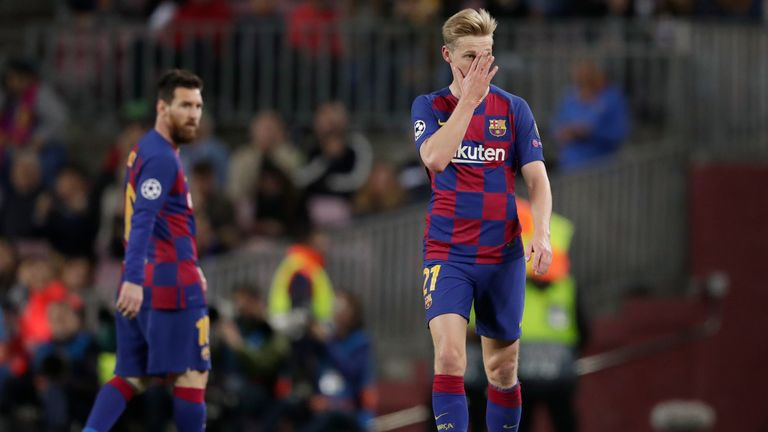 Barcelona were left frustrated after being held to a 0-0 draw at the Nou Camp