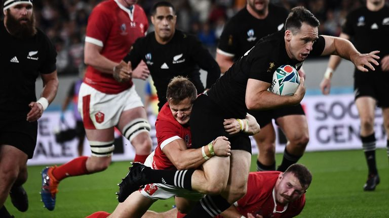 Smith went past five Wales players before scoring his side's third