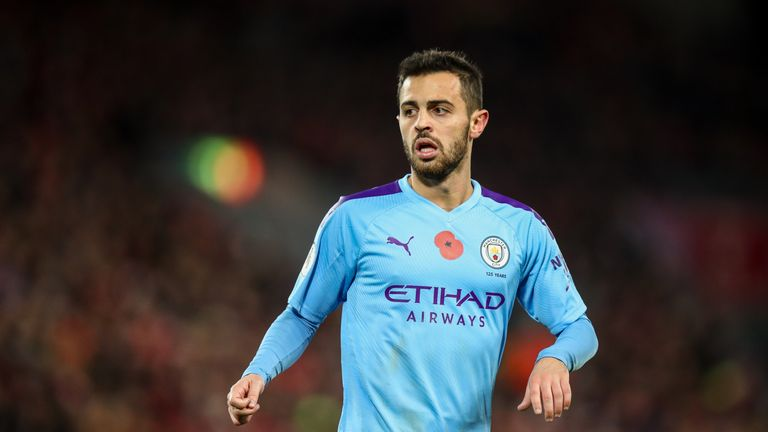 Bernardo Silva: Manchester City forward banned and fined for Benjamin Mendy tweet