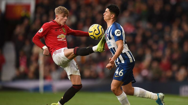 Brandon Williams has impressed for Manchester United