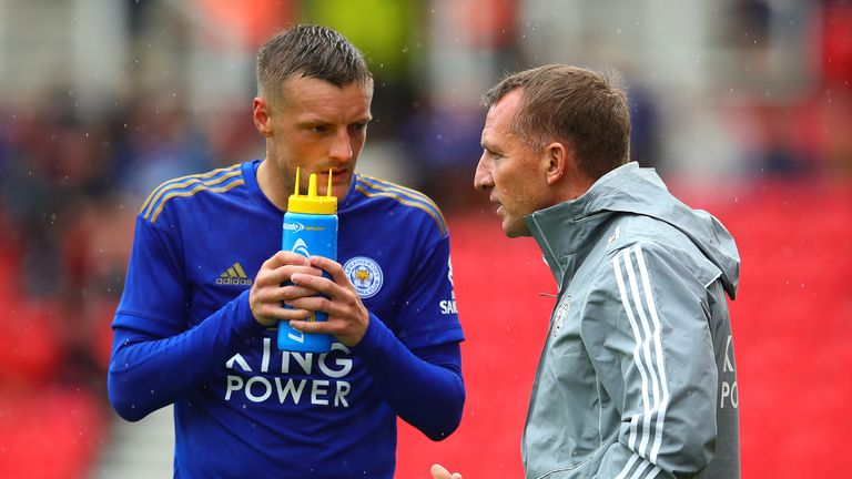 Jamie Vardy is thriving under Brendan Rodgers