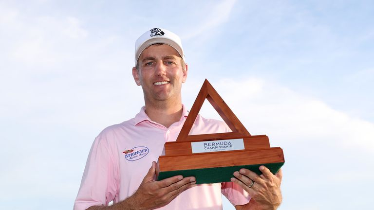 Brendon Todd closed with a 62 to win in Bermuda