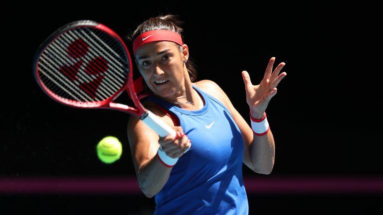 Caroline Garcia hit just three winners against her opponent