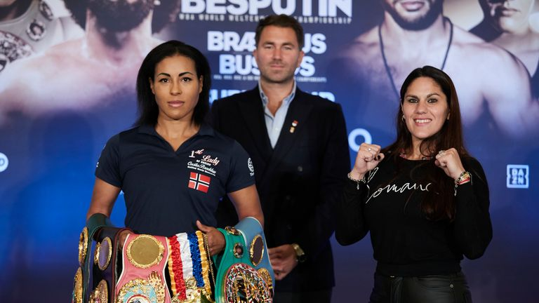 Braekhus has her 26th world title fight