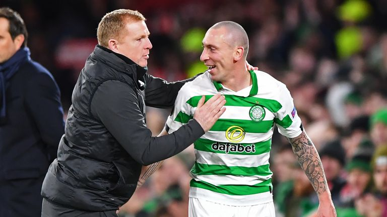 Lennon is delighted with the contribution of senior players like Scott Brown