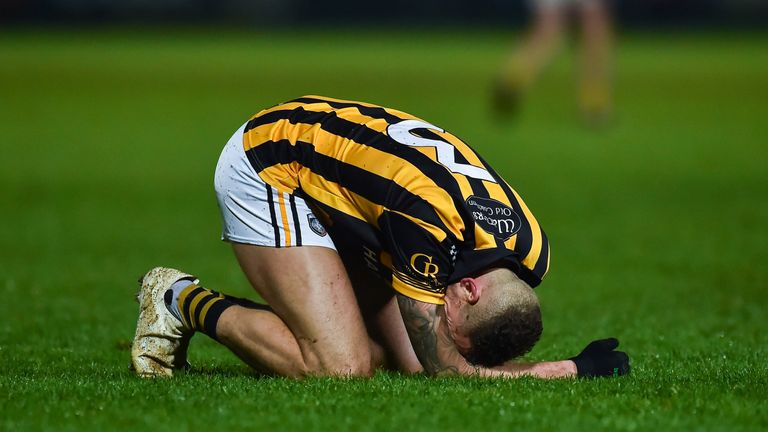 Crossmaglen were knocked out by the narrowest of margins