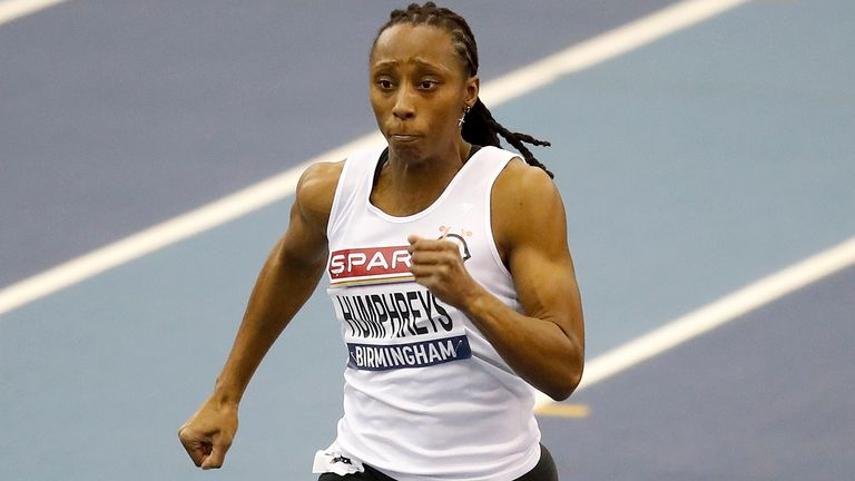 Sprinter Corinne Humphreys was a Commonwealth Games semi-finalist last year