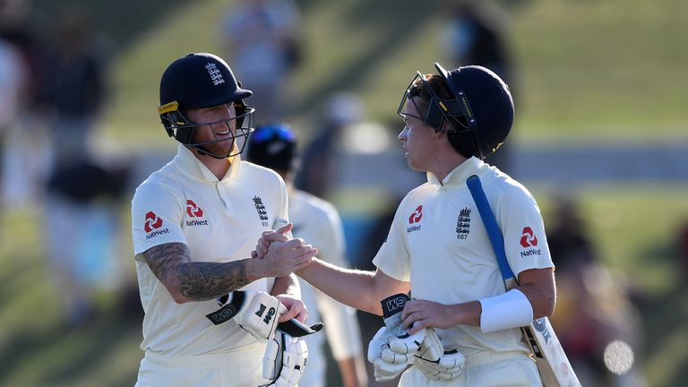 Black Caps v England, first test, day three