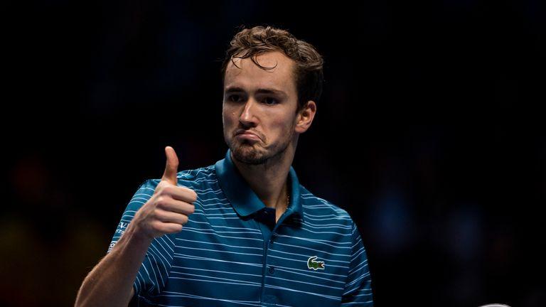 Daniil Medvedev was runner-up to Rafael Nadal at the US Open