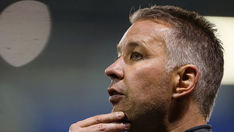 Darren Ferguson led Peterborough to seventh place in League One before the 2019/20 season was curtailed