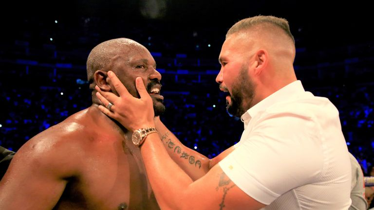 Tony Bellew could offer tactical advice to Derek Chisora