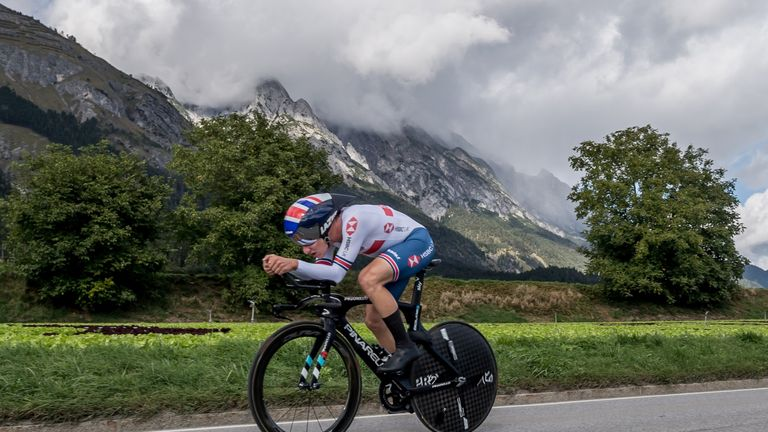 Ethan Hayter is the latest addition to Team Ineos' roster