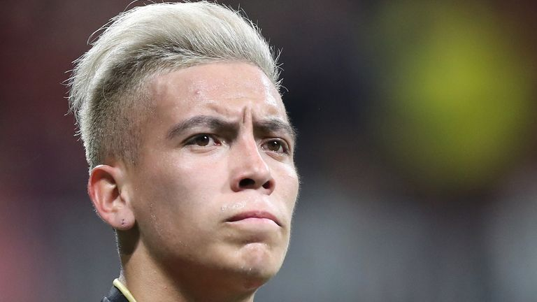 Ezequiel Barco is reportedly wanted by Arsenal and Manchester United